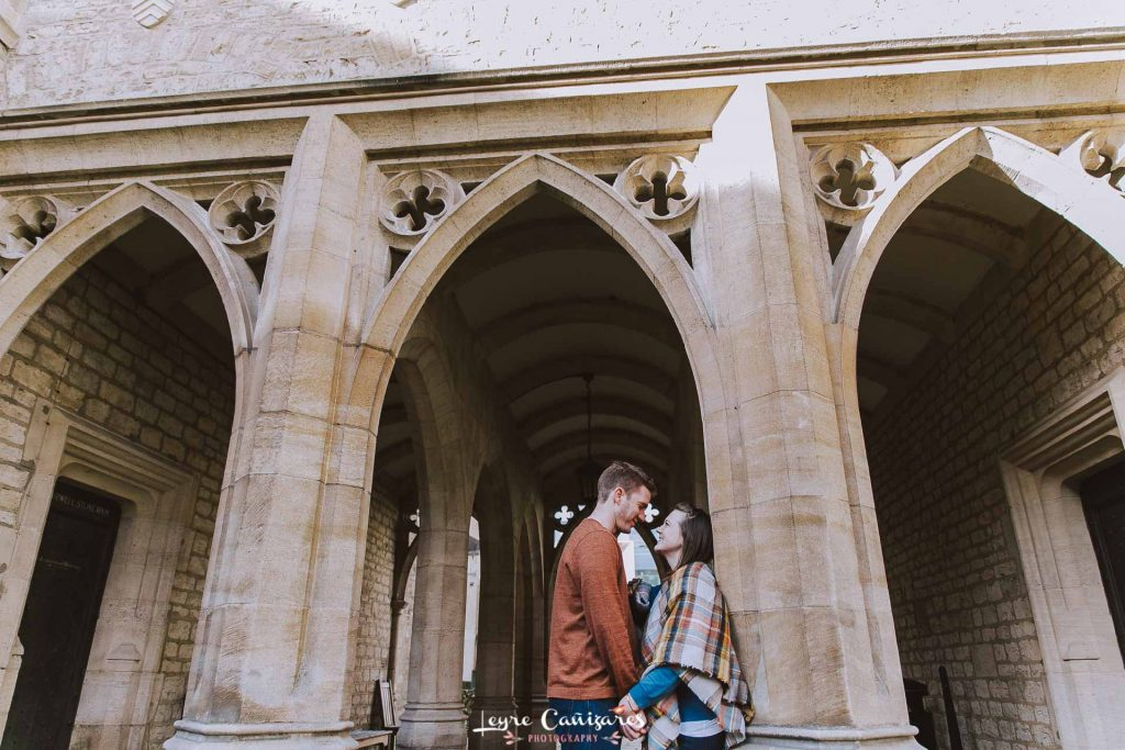 engagement photoshoot in Oxford