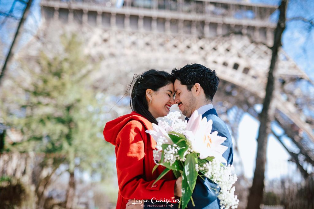 wedding photoshoot in PARIS