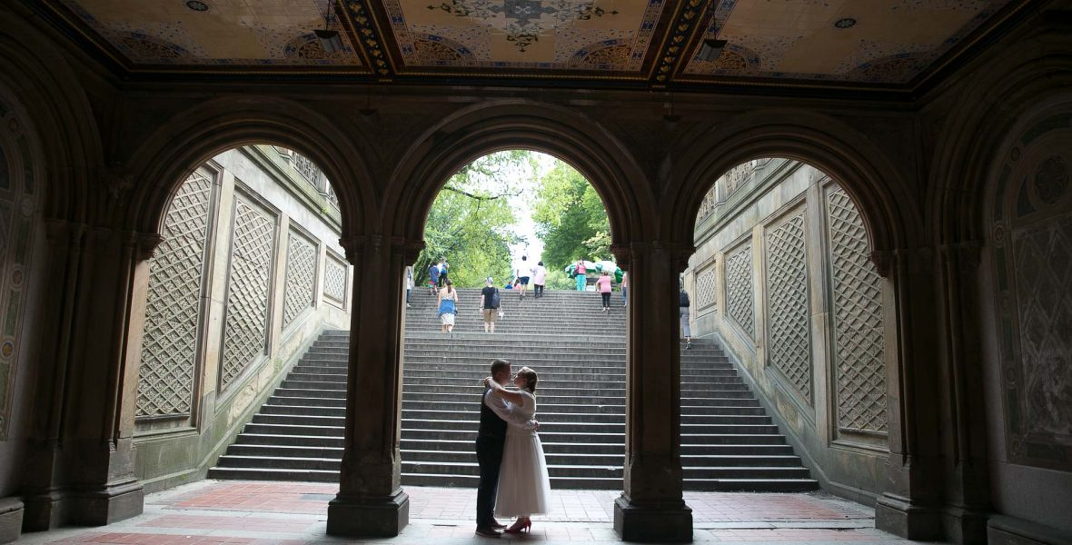wedding in central park, nyc photographer