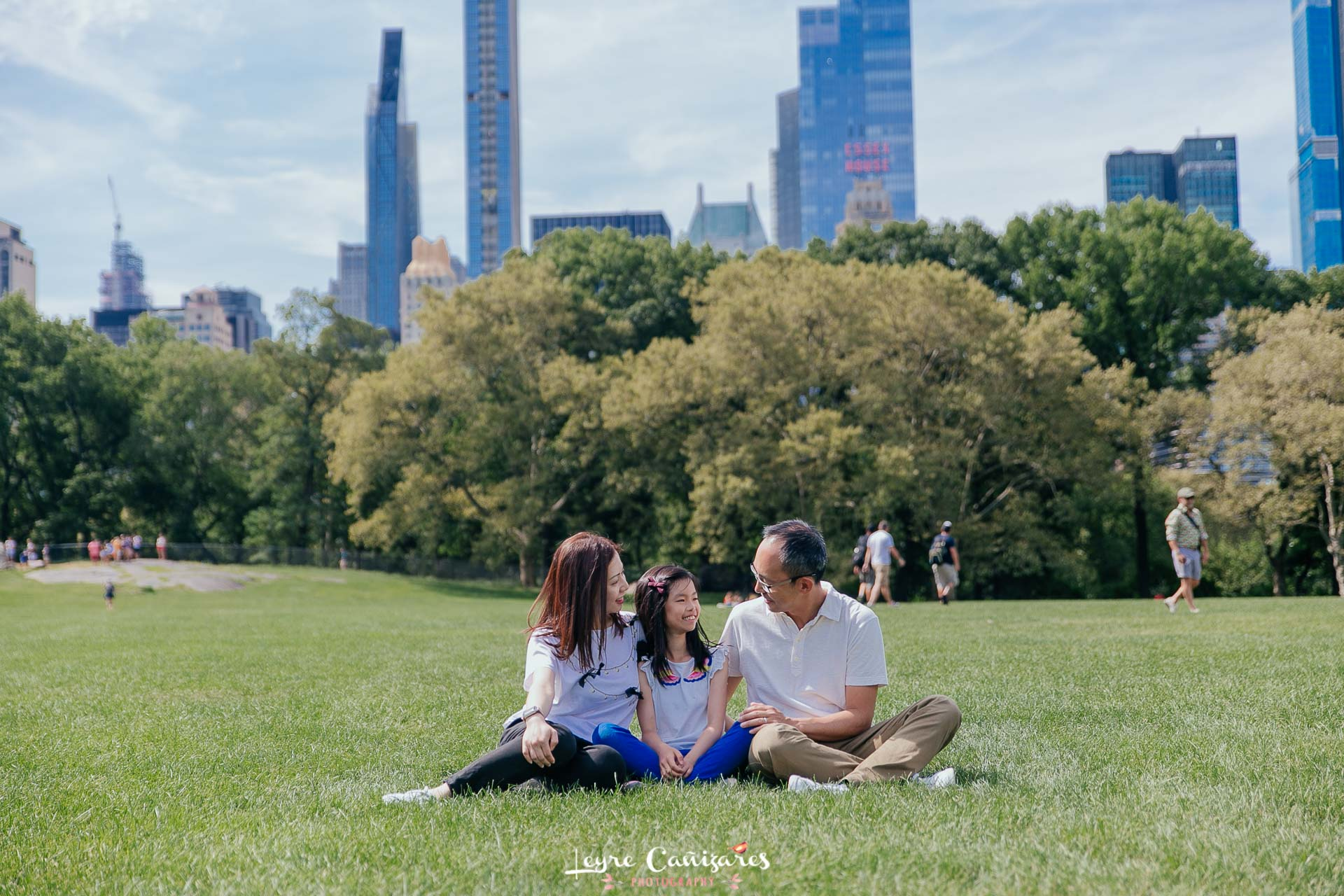 central park family photoshoot