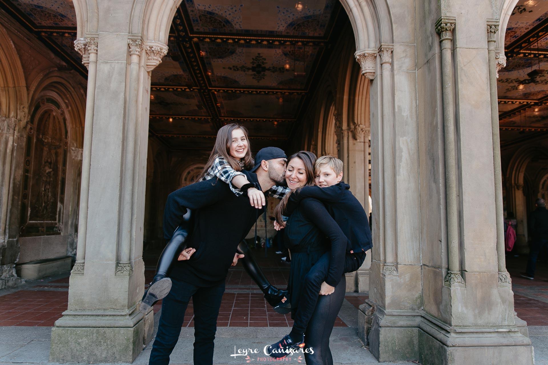 bethesda fountain family photography