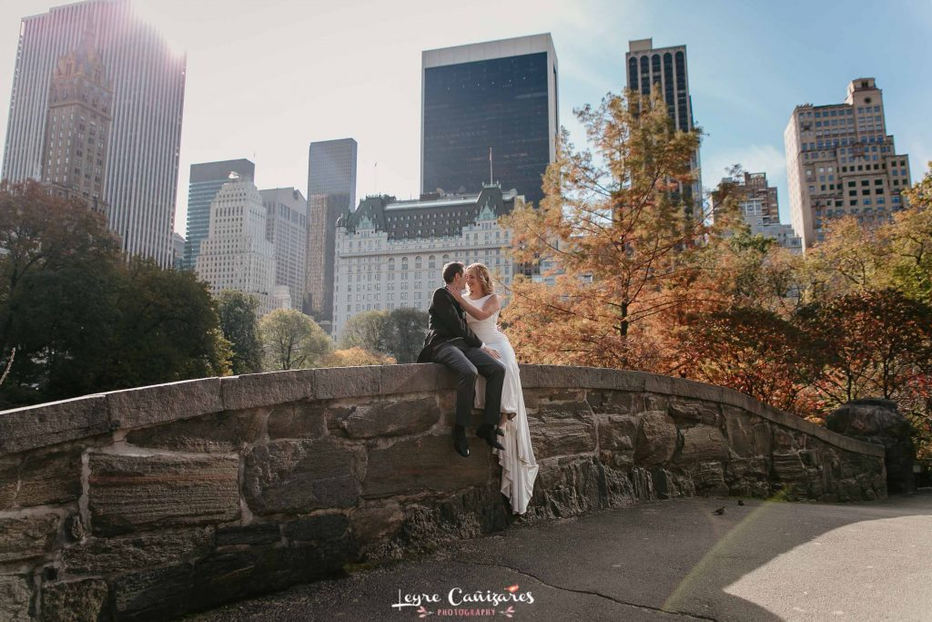 gapstow bridge elopement photoshoot by Leyre Cañizares