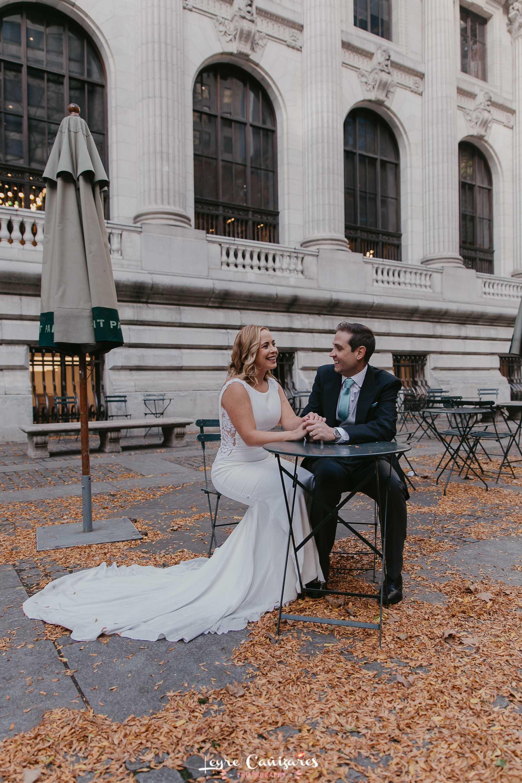 ny public library wedding photography