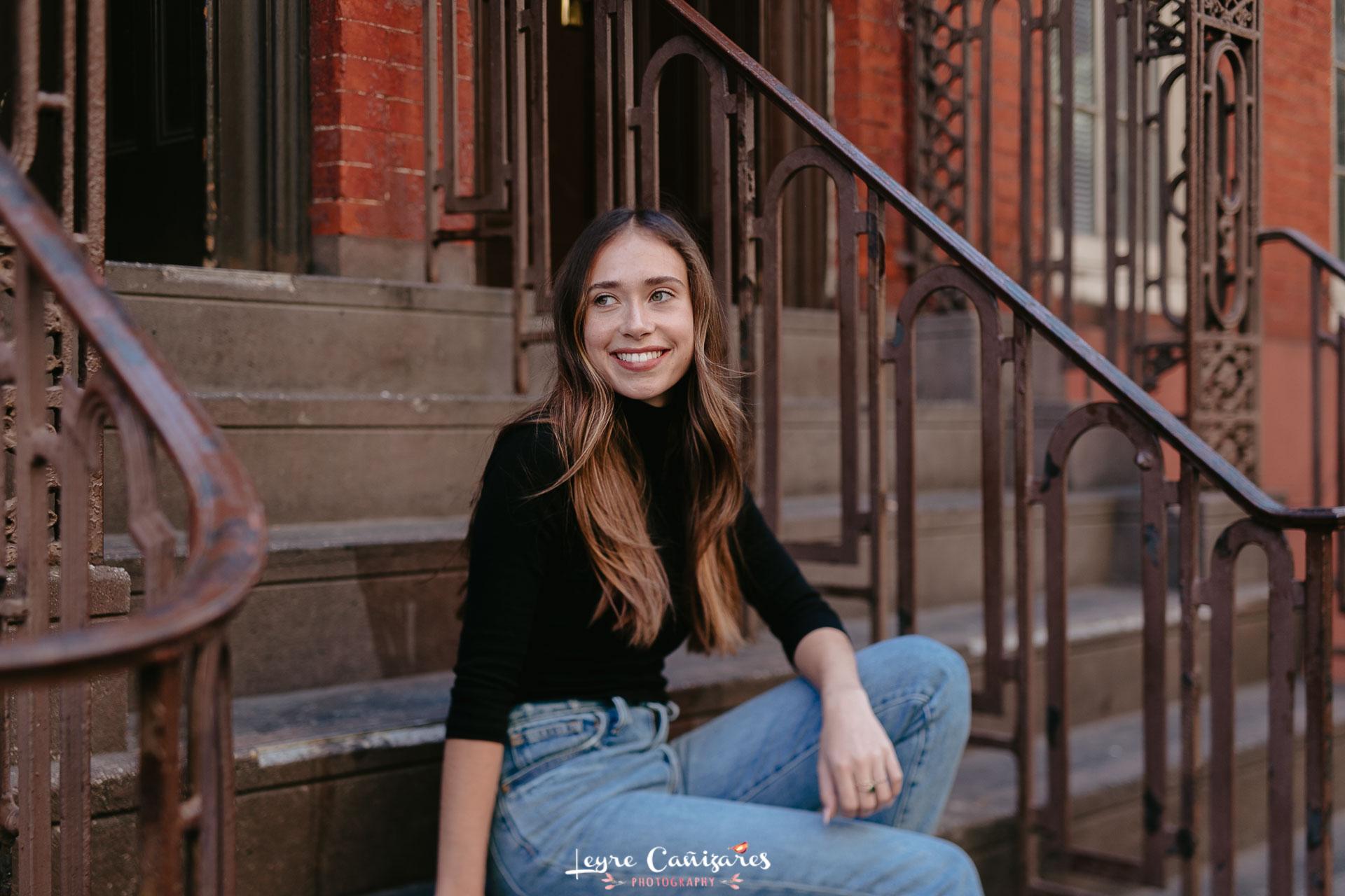 senior photography in Soho, NYC